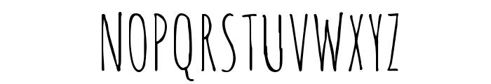 Amatic SC Regular Font UPPERCASE