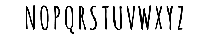 Amatica SC Bold Font UPPERCASE