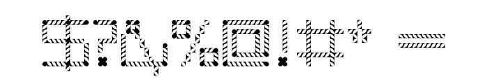 Amaya Technical Leaves Regular Font OTHER CHARS