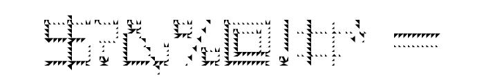 Amaya Technical Sharp Regular Font OTHER CHARS