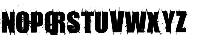 AmazMegaGrungeOne Font UPPERCASE