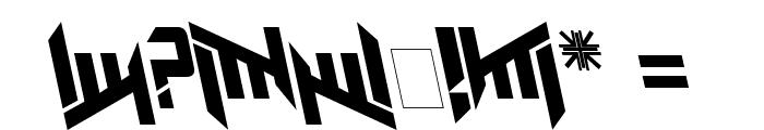 AmazObitaemOstrovLeftalic Font OTHER CHARS