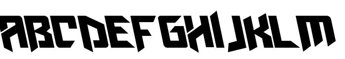 AmazObitaemOstrovLeftalic Font UPPERCASE