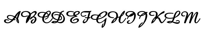 Amaze Bold Font UPPERCASE