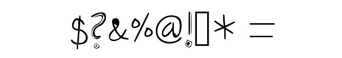Amazing Bro Medium Font OTHER CHARS
