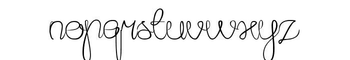 Amazing Day Everyday Font LOWERCASE