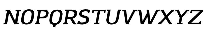Amazing Grotesk DemiBold Italic Font UPPERCASE
