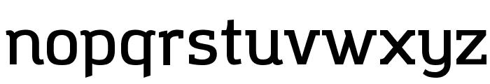Amazing Grotesk DemiBold Font LOWERCASE