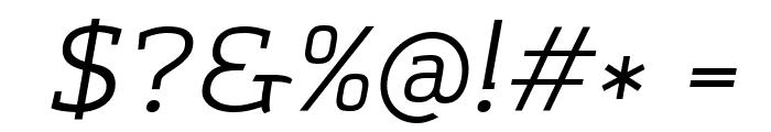 Amazing Grotesk Italic Font OTHER CHARS