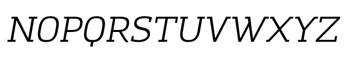 Amazing Grotesk Italic Font UPPERCASE