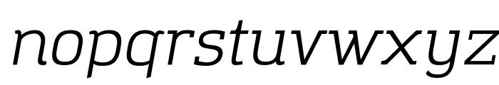 Amazing Grotesk Italic Font LOWERCASE