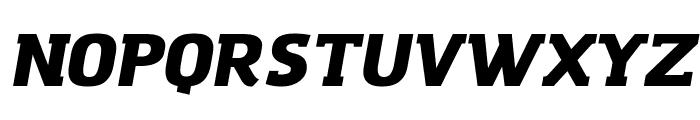 Amazing Grotesk Ultra Italic Font UPPERCASE