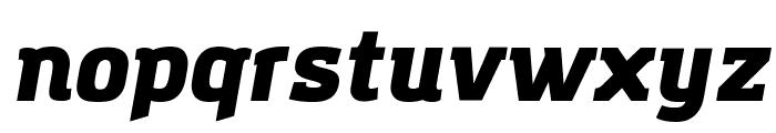 Amazing Grotesk Ultra Italic Font LOWERCASE