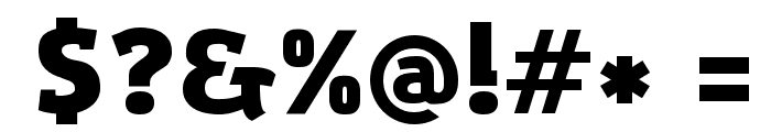 Amazing Grotesk Ultra Font OTHER CHARS