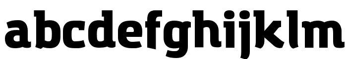 Amazing Grotesk Ultra Font LOWERCASE