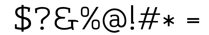 Amazing Grotesk Font OTHER CHARS