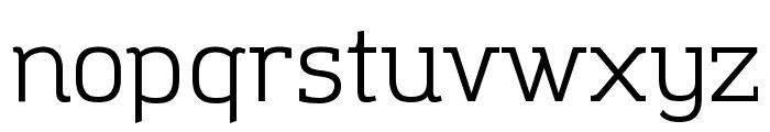 Amazing Grotesk Font LOWERCASE