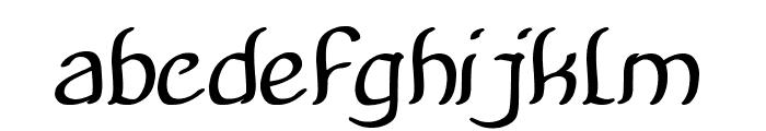 Amazing Symphony Bold Italic Font LOWERCASE