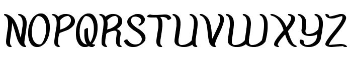 Amazing Symphony Bold Font UPPERCASE