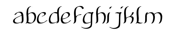 Amazing Symphony Italic Font LOWERCASE