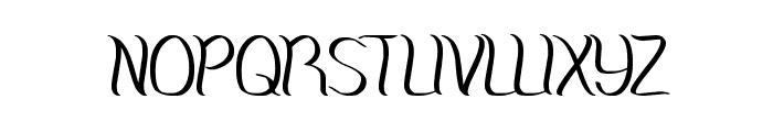 Amazing Symphony Font UPPERCASE