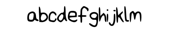 AmazingBasic Font LOWERCASE