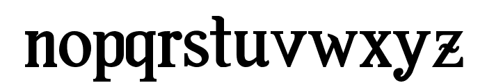 Amaz?nica Std Bold Font LOWERCASE