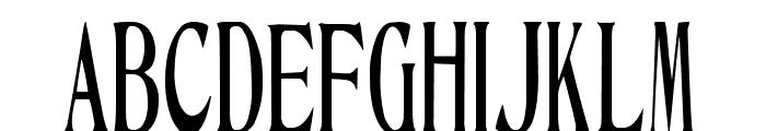 Ambassador Font UPPERCASE