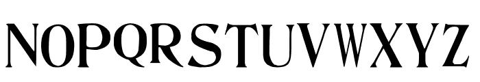 Ambassador Font LOWERCASE