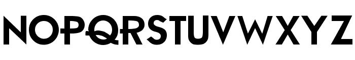 Ambient Medium Font UPPERCASE