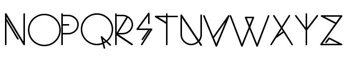 Ambo Thin Font UPPERCASE