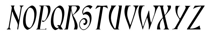 Ambrosia SlopedSmallCaps Font UPPERCASE