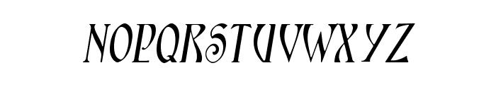 Ambrosia SlopedSmallCaps Font LOWERCASE