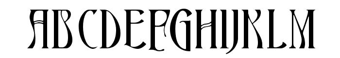 Ambrosia Font UPPERCASE