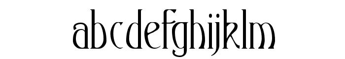 Ambrosia Font LOWERCASE