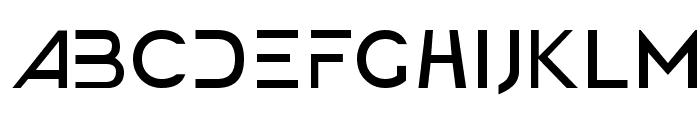 America Faster Light Font UPPERCASE