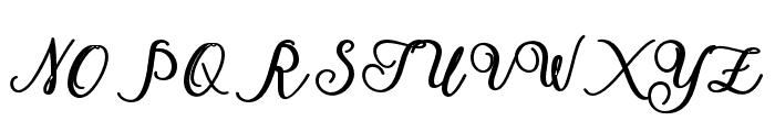 America Font UPPERCASE
