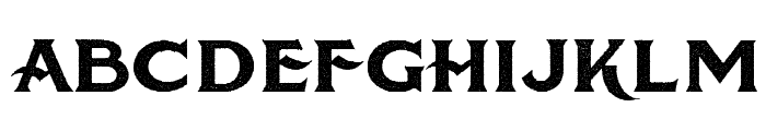 American Brewery Rough Demo Font UPPERCASE