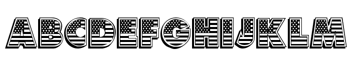American Dream Font UPPERCASE