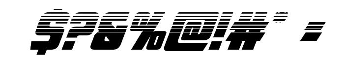 American Kestrel Halftone Font OTHER CHARS