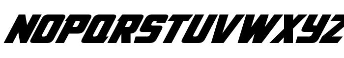 American Kestrel Italic Font LOWERCASE