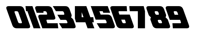 American Kestrel Leftalic Font OTHER CHARS