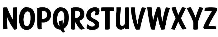 American Purpose Casual 01 Font LOWERCASE