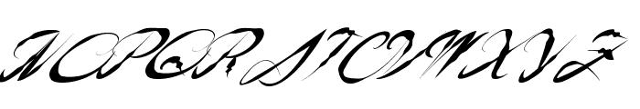 AmericanWestern Font UPPERCASE