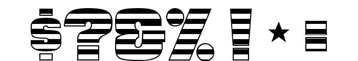 Americana Font OTHER CHARS