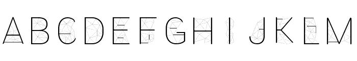 Amethyst Font UPPERCASE