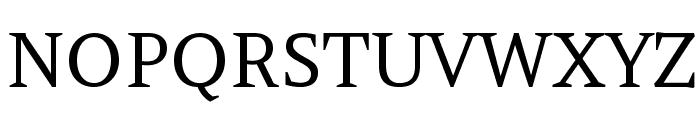 Amethysta-Regular Font UPPERCASE