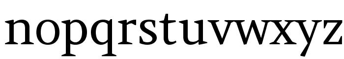 Amethysta-Regular Font LOWERCASE