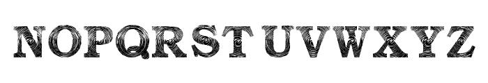 Amin_Storm Font UPPERCASE