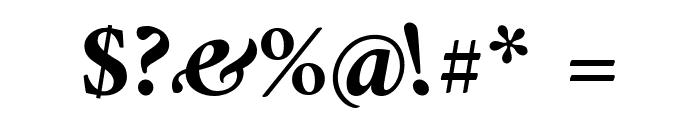 Amiri Bold Italic Font OTHER CHARS